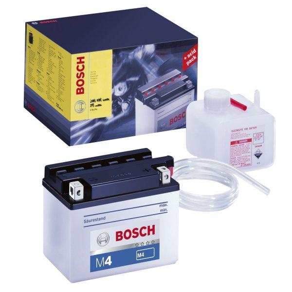[Amazon.de-Prime] Bosch 0092M4F180 Motorradbatterie Fresh Pack 5AH, JIS-Code 12N5-3B, YB5L-B