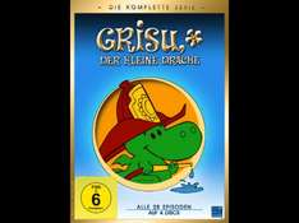 [DVD] Grisu der kleine Drache (Gesamtbox) @ Saturn