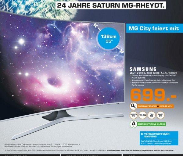 (Lokal) Samsung UE55J6350 für 699€ @ Saturn Mönchengladbach
