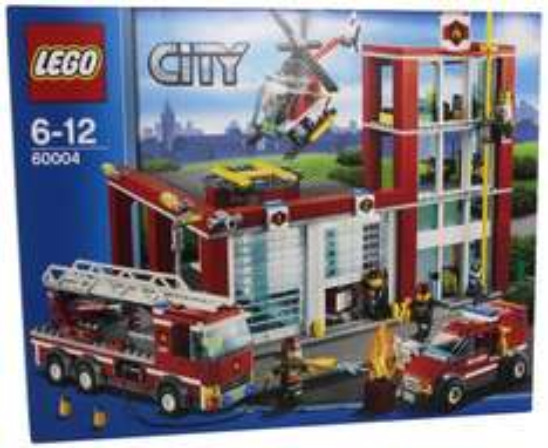 {myToys} Lego 60004 City: Feuerwehr-Hauptquartier mit Gutscheinen 49,95 (idealo ab 69,89)