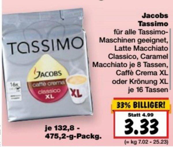 Tassimo T-Discs Kapseln 3,33 bei Kaufland