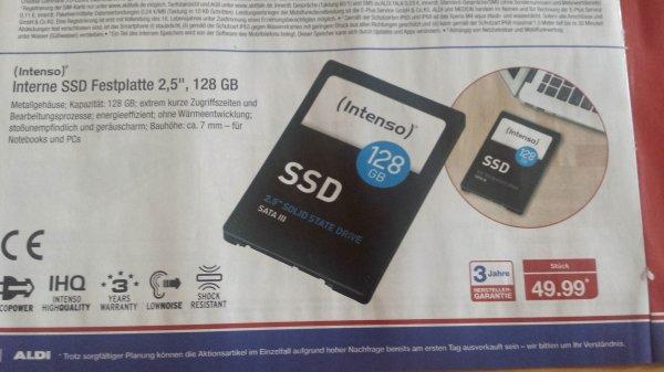 SSD bei Aldi Nord ab 12.11. für 49.99 Euro