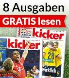 8 Ausgaben Kicker für 2,95€ @ abosgratis (Kündigung nötig)