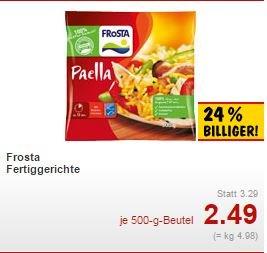 Frosta Fertiggerichte versch. Sorten bei Kaufland [bundesweit,Außer BY,BW] 2,49 Euro