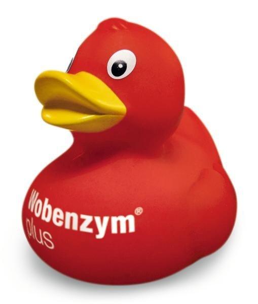 Kostenlose Badeente von Wobenzym ...mit Spendenaktion!