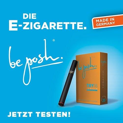 """BePosh TRY16 Tobacco E-Zigarette. """"Gratis"""" Einwegzigarette wieder zum Testpreis Verfügbar. [Überraschend gut]"""