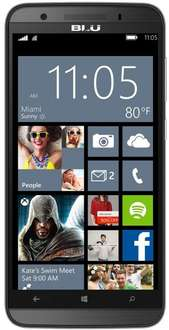 (B-Ware)  BLU Win HD LTE Smartphone (12,70 cm (5,0 Zoll) IPS, 8 GB Speicher, 8 MP Kamera, Windows 8.1) grau für 108,98€ @ Amazon WHD