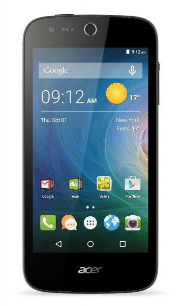 Acer Liquid Z330 [Dual-SIM, LTE, 4.5 Zoll IPS-Display, 1.1 GHz QuadCore-CPU, 5MP Kamera, Android 5.1 ] schwarz u. weiß inkl.Vsk für 89,72 € > [amazon.fr] > Blitzangebot > Bestpreis
