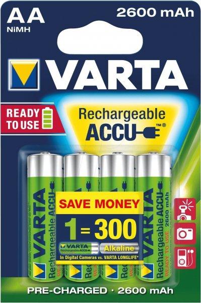 40stk Akkus von Varta Professional AA ready 2 use/ LSD Akkus direkt von Amazon @ 2600mAh