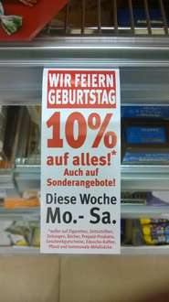 [Lokal Leipzig Allee Center] Rossmann 10 Prozent auf alles