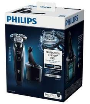 [Amazon] Philips S9111/31 Series 9000 Nass- & Trockenrasierer inkl. Reinigungstation und Bartstyler für 159,30 €