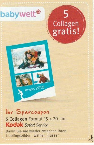 Rossmann 5 Collagen gratis! (Kodak Sofort Service)