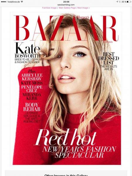 """Jahresabonnement der """"Harper's Bazaar"""" kostenlos, bei Abogratis..."""