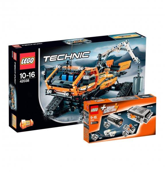 [Galeria Kaufhof] LEGO Technic-Set Arktis Kettenfahrzeug 42038 & Power Functions Tuning 8293