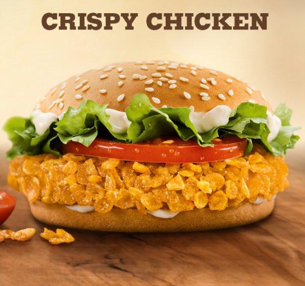 [BURGER KING] Crispy Chicken für 1,99€ statt 3,89€