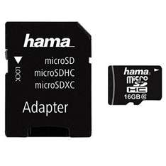 Hama Class 10 16 GB Micro SDHC Incl. SD Adapter