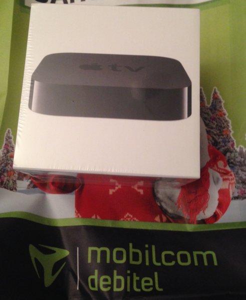 Apple TV 3 für 49,99€ bei Mobilcom Debitel - bundesweit in der Filiale