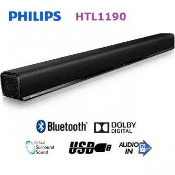 Soundbar Philips HTL1190B für 71,39€ statt 84,90€ bei Selgros