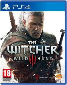 The Witcher 3: Wild Hunt [PS4] für 29,60€, Versand gratis