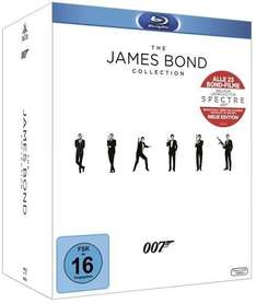[Blu-ray]  The James Bond Collection (2015) @ Thalia
