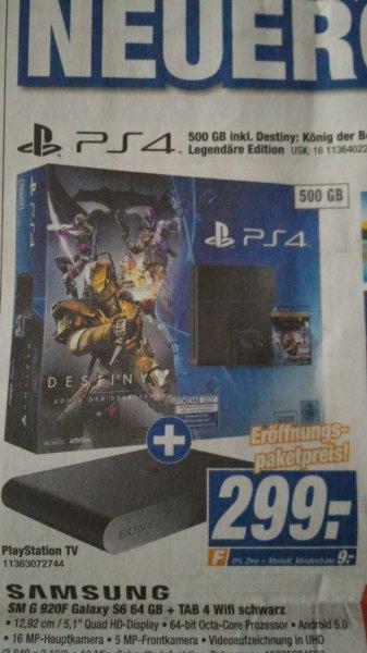 """Lokal""Playstation 4 Destiny Bundle + PlayStation TV"