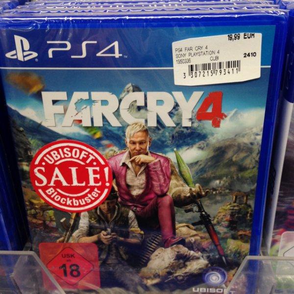 [Mediamarkt Wuppertal] Far Cry 4 für PS4