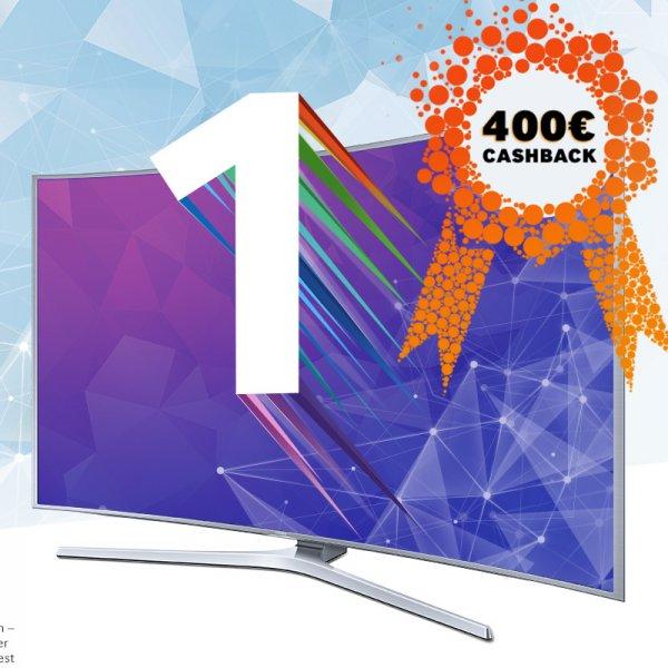 """Samsung GEWINNERTAGE (Nur am 13.+14. Nov.) - Bis zu 400€ Cashback auf die 55"""" SUHD TV Top Modelle"""