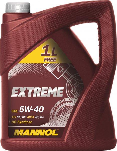 Motoröl Mannol Extreme 5W-40 5 Liter für 9,95 €