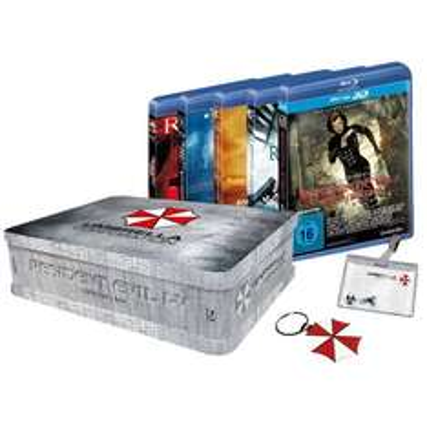 Resident Evil 1-5 Collectors Box (Blu-ray) @EMP für 58,40€