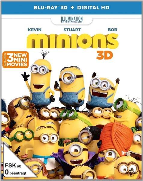 Minions 3D-Blu-ray bei Thalia