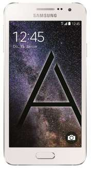 [Amazon] Samsung Galaxy A3 LTE (4,5'' qHD AMOLED, 1,2 GHz Quadcore Snapdragon 410, 1,5 GB RAM, 16 GB intern, Unibody-Metallgehäuse, Android 5.0) für 159€ *** A5 für ~210€