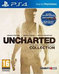 Uncharted - The Nathan Drake Collection (PS4) (US PSN) für 25,52€