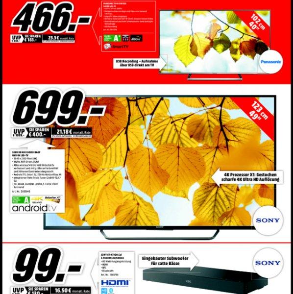 Geburtstags Werbung im Media Markt Dorsten