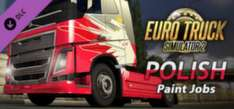 [Steam] Euro Truck Simulator 2 - Polish Paint Jobs Pack -51%