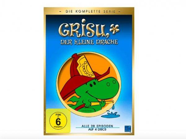 Grisu der kleine Drache (Gesamtbox) - (DVD) für 8,99€ bei Saturn.de