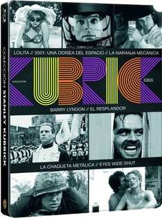 Kubrick Pack – Steelbook [7x Blu-ray] für 31,28€ bei Amazon.es
