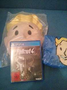 [lokal MM Porta-Westf.] PS4 Fallout 4 + T-Shirt + Maske + Soundtrack für 49€
