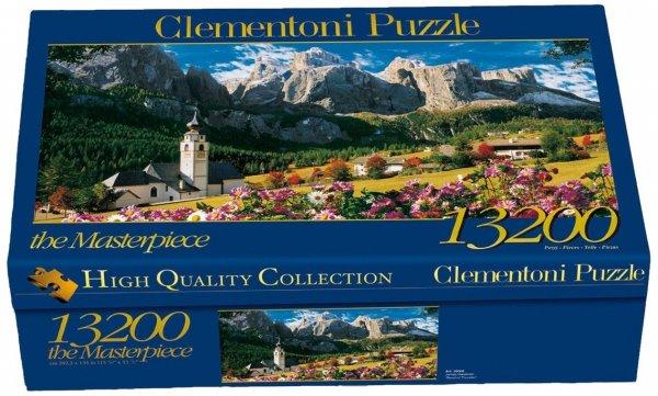 [Amazon] Puzzle Clementoni 38007.7 - Sellagruppe - Dolomiti 13200 teilig für 42,15€