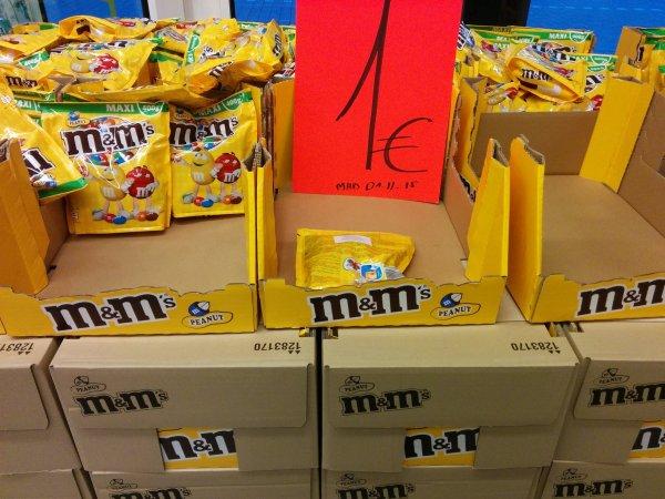 [Lokal Bochum] M&M's 400g mit und ohne Nüsse für 1,00€ bei Lecker lecker