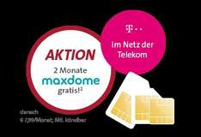 [Sparhandy] UPDATE Internet Flat Telekom 1.000 / 3.000 / 6.000 Mobilcom Debitel