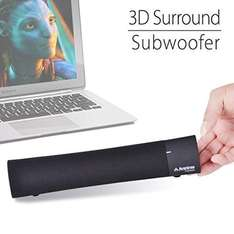 Amazon.de: Bluetooth 4.0 Soundbar mit 3D Surround Stereo Klang mit Ultra Bass Effekt schwarz Avantree Torpedo