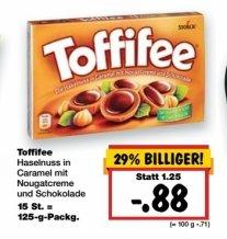[Kaufland Bundesweit] Vom 19.11 bis 21.11...Toffifee 15 Stück Packung für 0.88€.Ab Morgen verfügbar!
