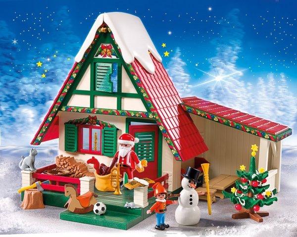 (lokal) Müller Neu Isenburg - Playmobil 5976 Zuhause beim Weihnachtsmann für 20€