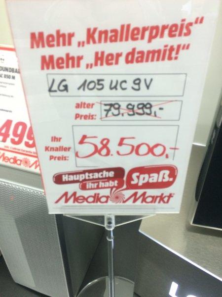 [Lokal MM Magdeburg Pfahlberg] LG 105UC9V - 5K TV, 21:9 - Perfekt für das ...