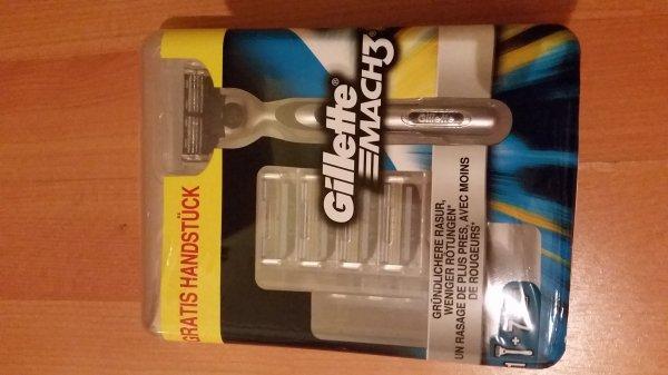 [Penny Markt Bundesweit] Gillette Mach 3 mit 8 Klingen und Handstück