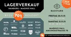 [Lokal HH]  [Magnus Hall] Backyard Lagerverkauf - Winter Street Wear (20. & 21.11.)