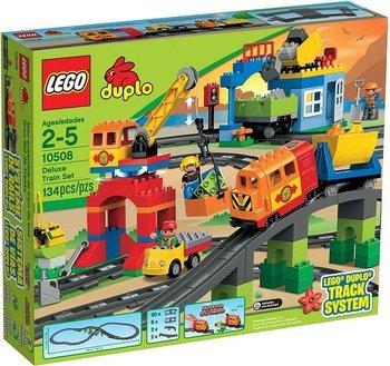 Lego Duplo @ MyToys, z.B. Eisenbahn Super Set (10508) für 75,42€ (Idealo:84,99) oder Feuerwehr Hauptquartier 34,25€ (Idealo: 42,49)