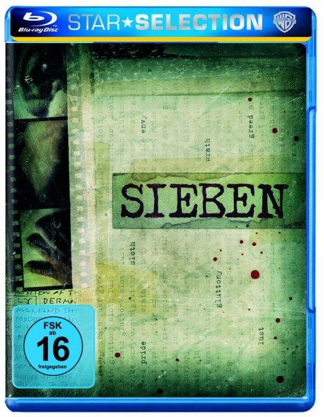 Sieben [Blu-ray] mit Brad Pitt & Morgan Freeman @amazon Prime oder Buchtrick