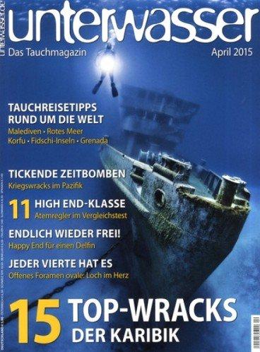 Unterwasser - Das Tauchmagazin für 62,90€ mit 60€ Bestchoice Gutschein