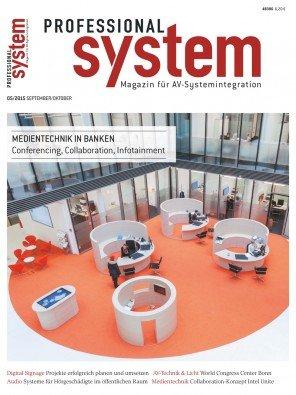 """Zeitschrift """"Professional System - Magazin für AV-Systemintegration"""" - zwei Ausgaben kostenlos"""